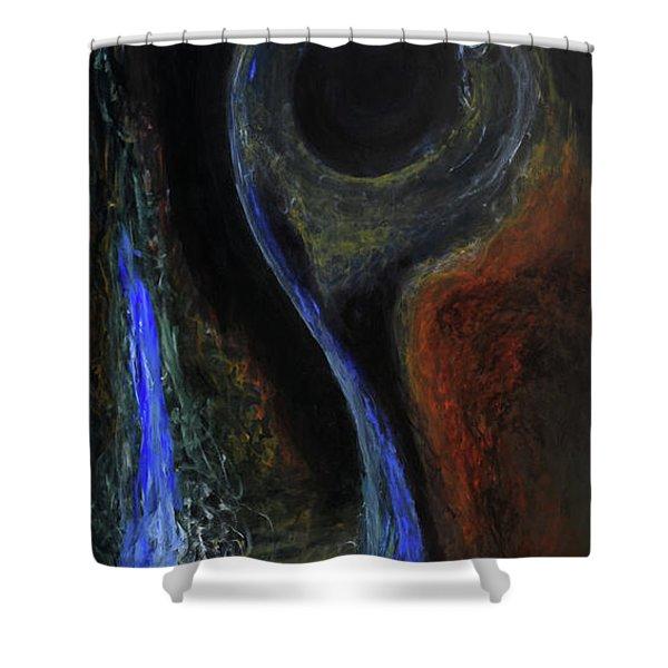 Hydrogen Fiend Shower Curtain