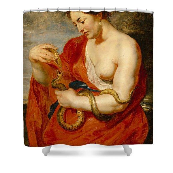 Hygeia - Goddess Of Health Shower Curtain