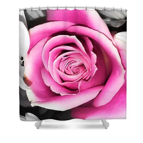 Hypnotic Pink 2 Shower Curtain