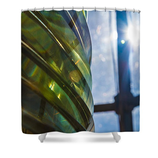 I Am The Light Keeper Shower Curtain