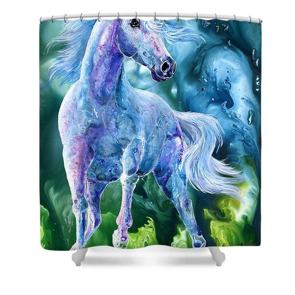 I Dream Of Unicorns Shower Curtain