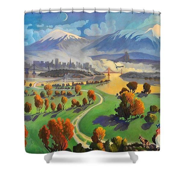 I Dreamed America Shower Curtain