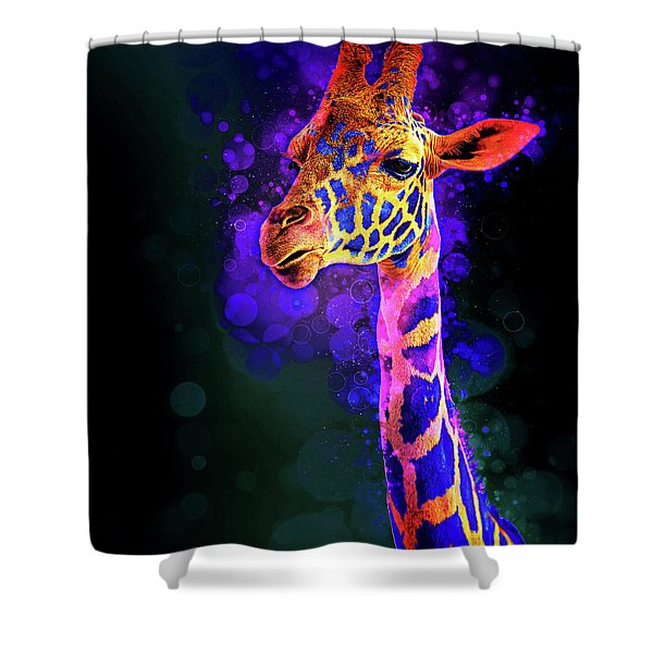 I Dreamt A Giraffe Shower Curtain