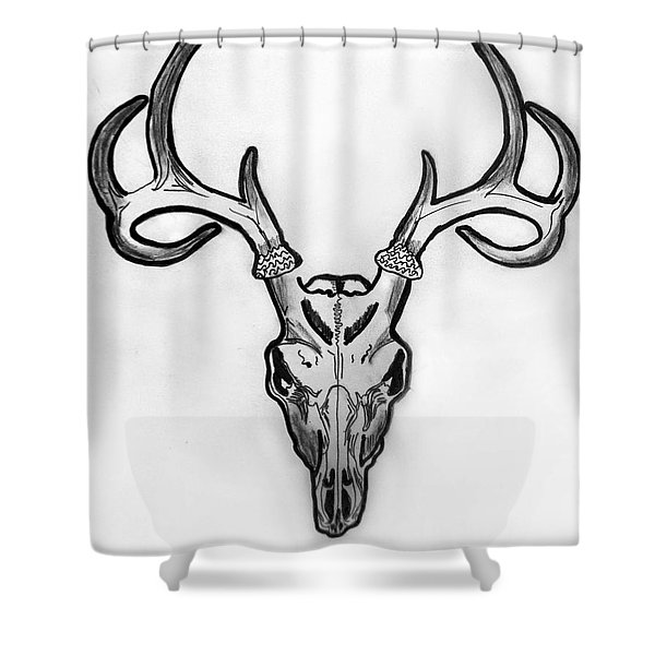 I Exist Shower Curtain