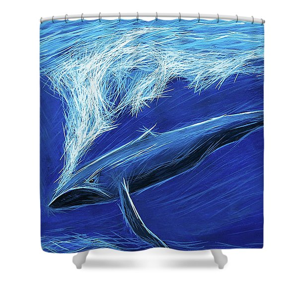 I Fight For Clean Waters Shower Curtain