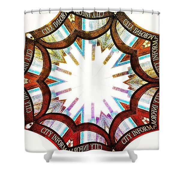 I Got Your City Right Here Shower Curtain