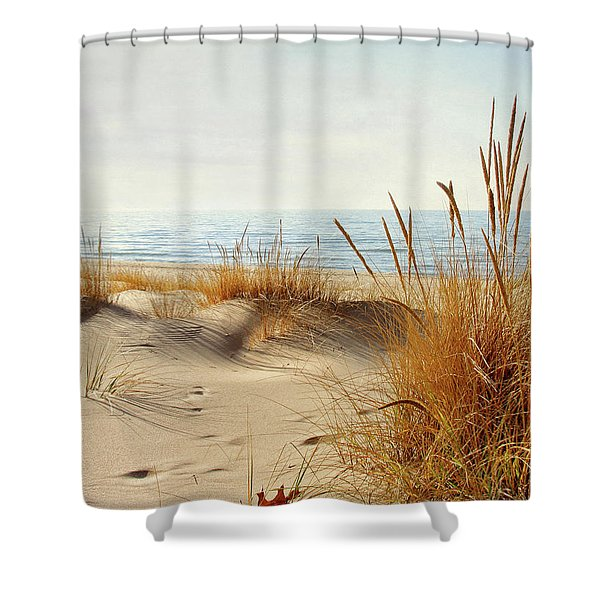 I Hear You Coming  Shower Curtain