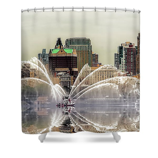 I Love My Job Shower Curtain