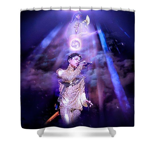 I Love You - Prince Shower Curtain