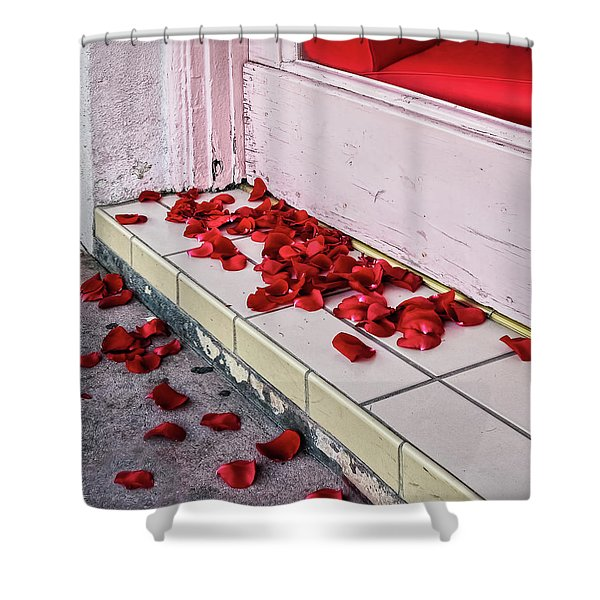 I Poured Out My Heart Shower Curtain