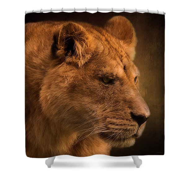 I Promise - Lion Art Shower Curtain