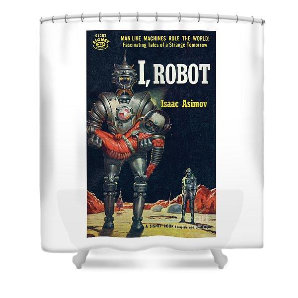 I, Robot Shower Curtain