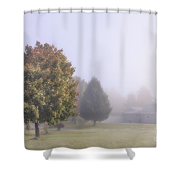 I Scent The Morning Air Shower Curtain