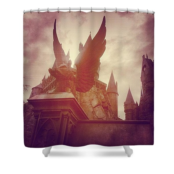 I Solemnly Swear I Am Up To No Good Shower Curtain
