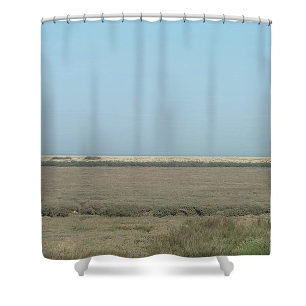 I Took This Photo In Blakeney Last Bank Shower Curtain