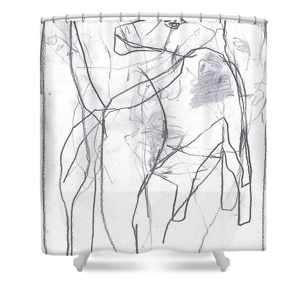 I Was Born In A Mine 10 Shower Curtain