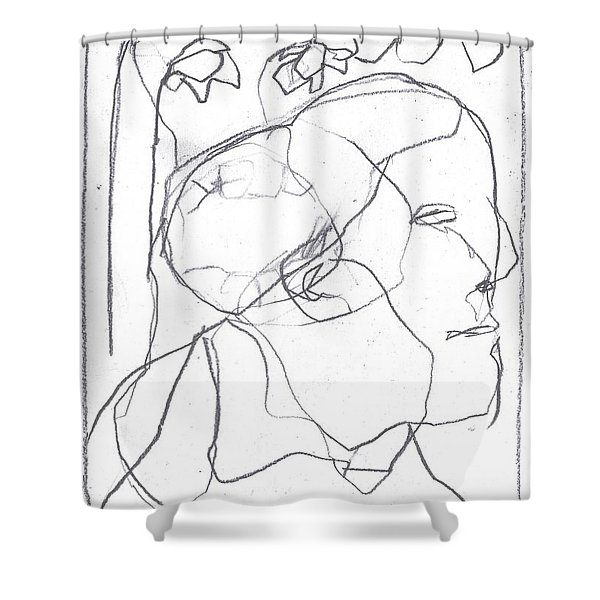 I Was Born In A Mine 11 Shower Curtain