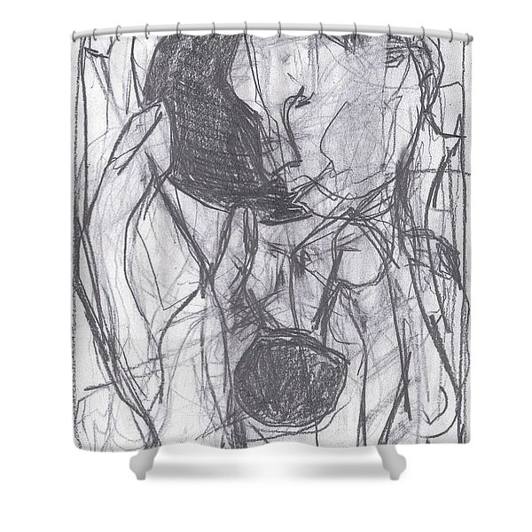 I Was Born In A Mine 3 Shower Curtain