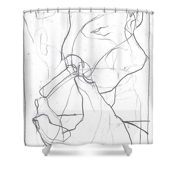 I Was Born In A Mine 4 Shower Curtain