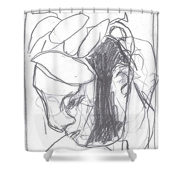 I Was Born In A Mine 8 Shower Curtain