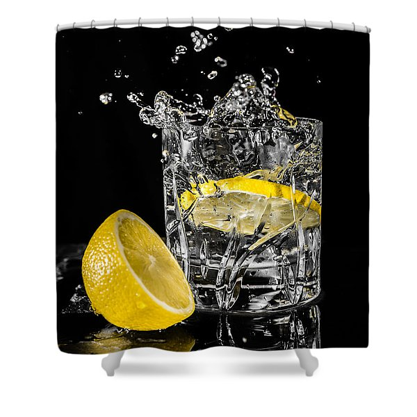 Shower Curtain featuring the photograph Ice And A Slice by Nick Bywater