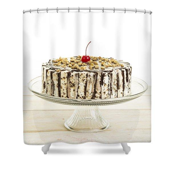 Ice Cream Cake  Shower Curtain