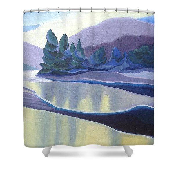 Ice Floes Shower Curtain