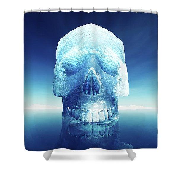 Iceberg Dangers Shower Curtain