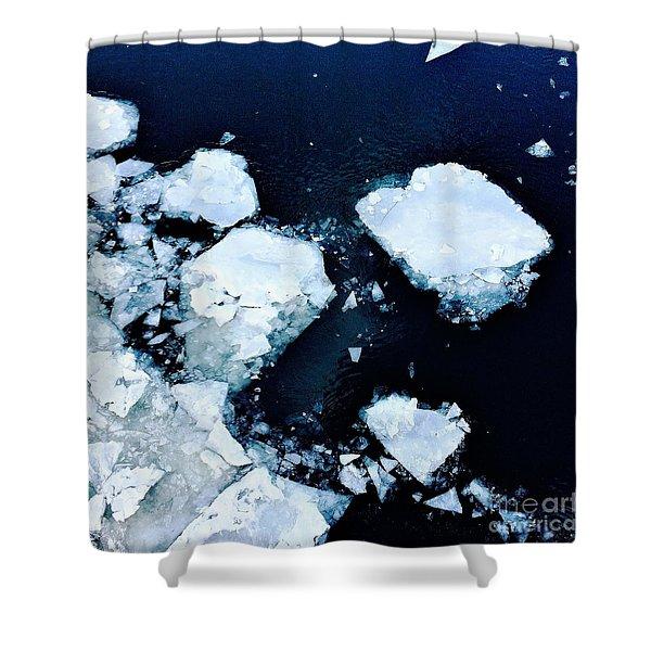 Iced Beauty #1 Shower Curtain