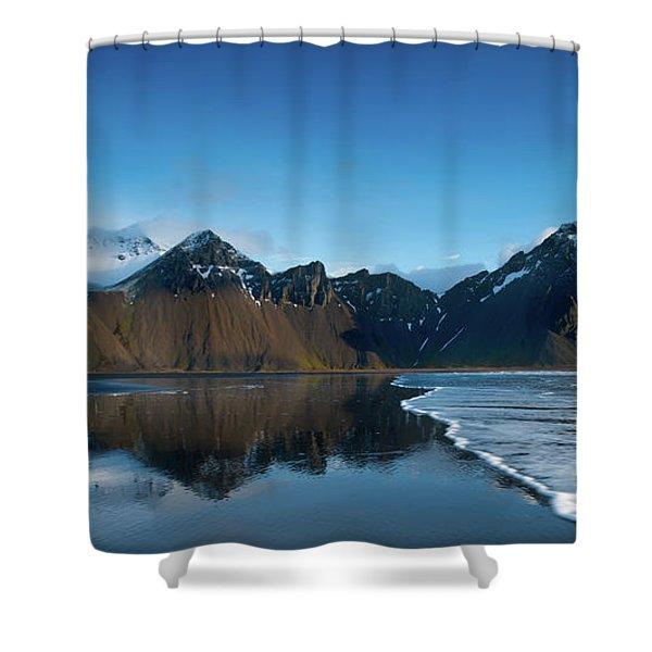 Iceland Sunrise Shower Curtain
