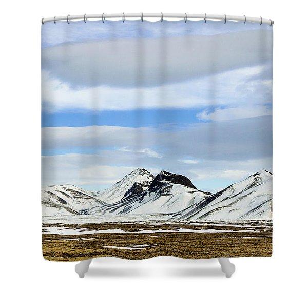 Icelandic Wilderness Shower Curtain