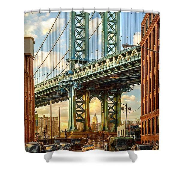 Iconic Manhattan Shower Curtain