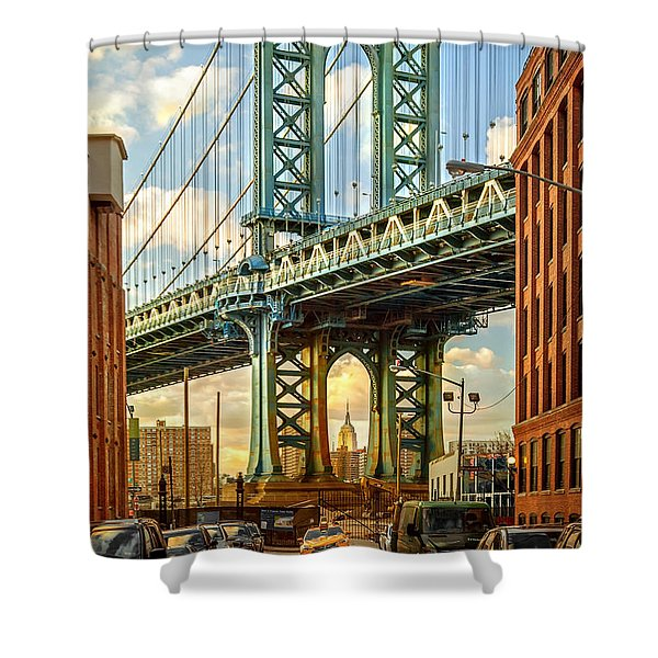 Iconic Manhattan Shower Curtain