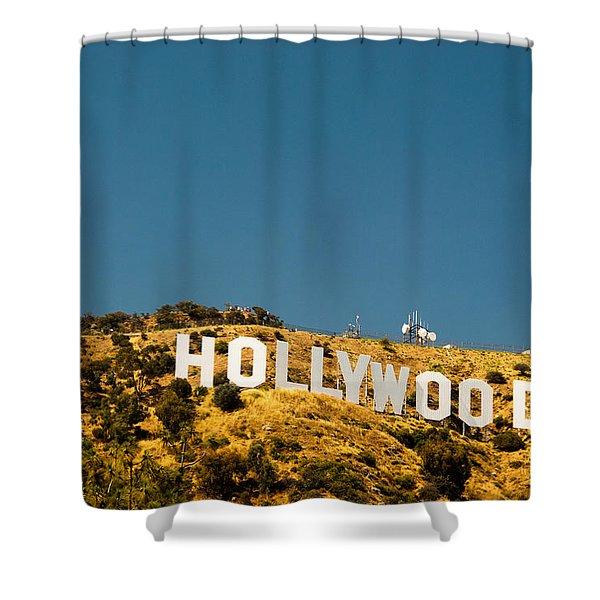 Iconic Shot - Beachwood Canyon Shower Curtain