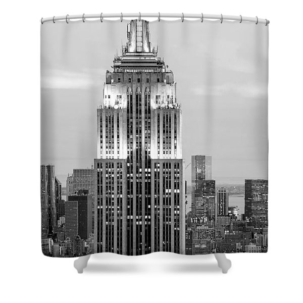 Iconic Skyscrapers Shower Curtain