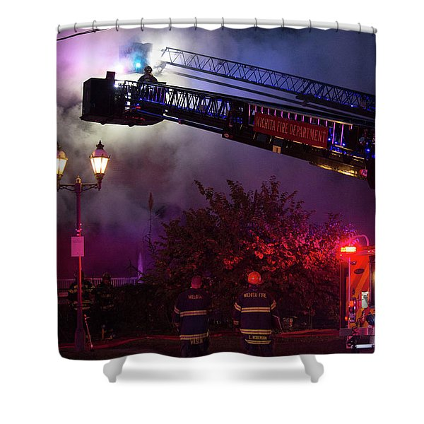 Ict - Burning Shower Curtain