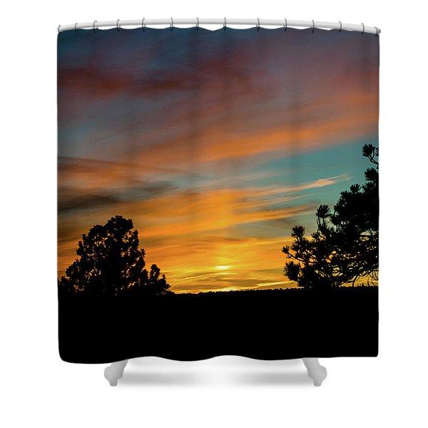 Shower Curtain featuring the photograph Icy Pillar by Jason Coward