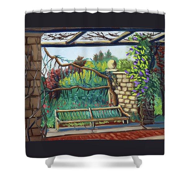Idaho Botanical Gardens Shower Curtain