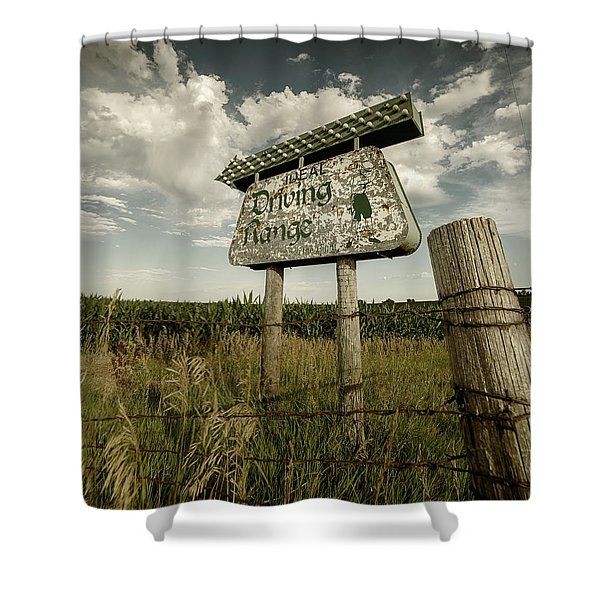 Ideal Driving Range Shower Curtain