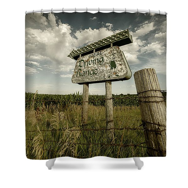 Ideal Driving Range Shower Curtain