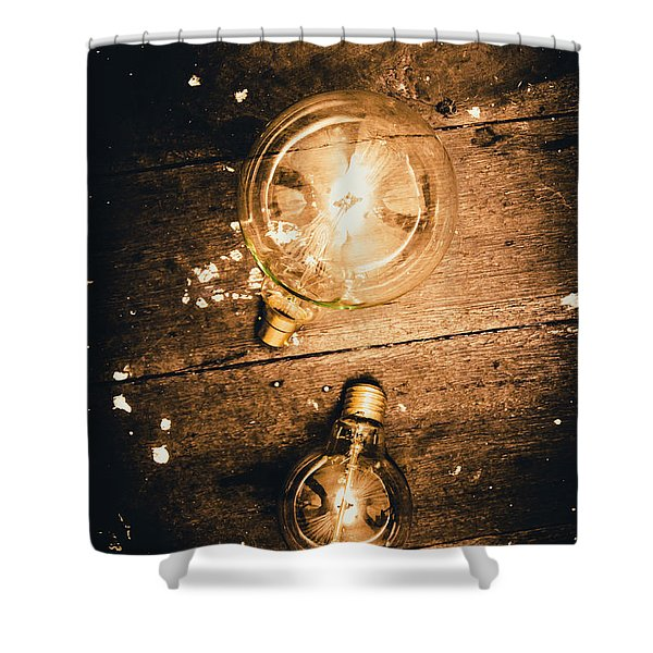 Ideas Evolution Shower Curtain