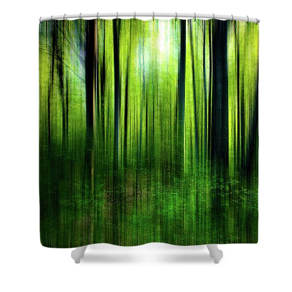 If A Tree Shower Curtain