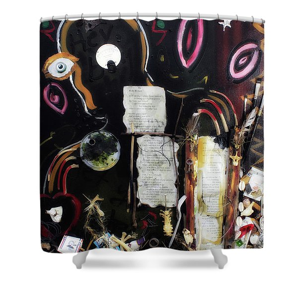 If Boys Could Cry Shower Curtain