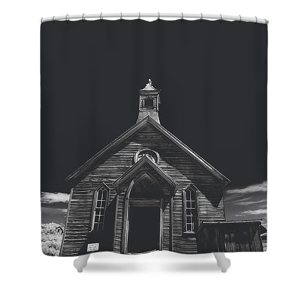 If You Should Pass Through These Doors Shower Curtain
