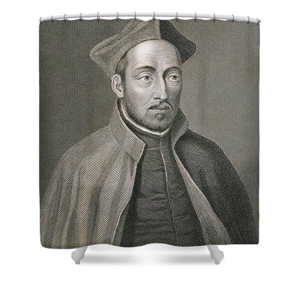 Ignatius Of Loyola Shower Curtain