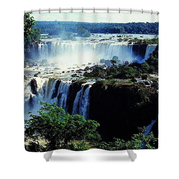 Iguacu Waterfalls Shower Curtain
