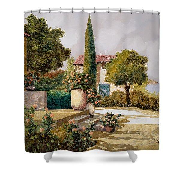 Il Cipresso Shower Curtain