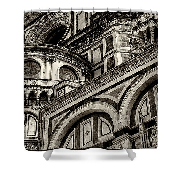 Il Duomo Di Firenze Shower Curtain