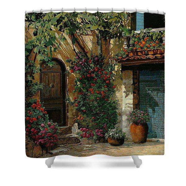 Il Giardino Francese Shower Curtain