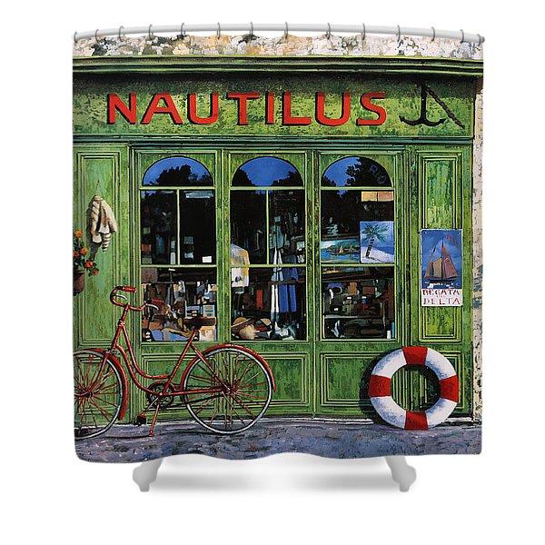 Il Nautilus Shower Curtain